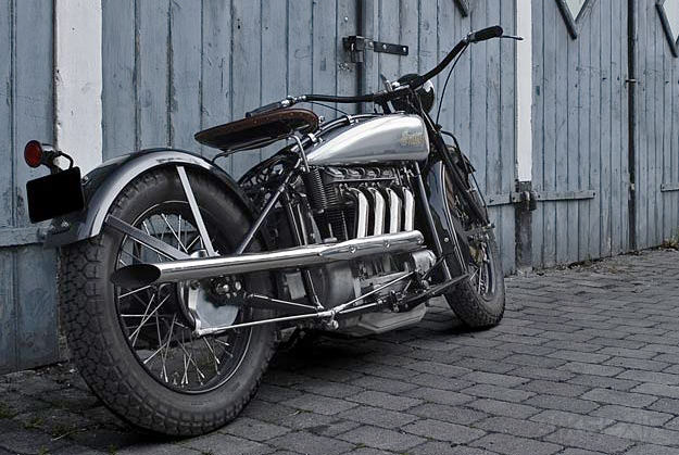 Indian Four custom motorcycle