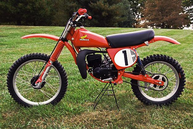 Honda RC125 Marty Smith replica by Vintage Factory