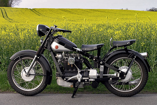 Nimbus Model C motorcycle