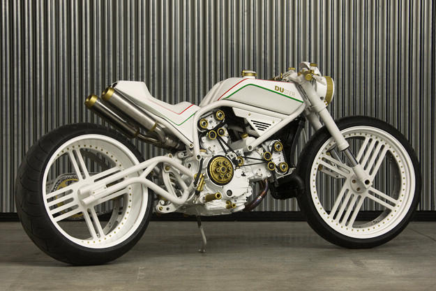 DUster custom Ducati by Yuri Shif Custom