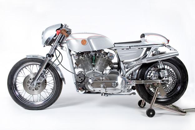 Custom Harley Sportster by Walt Siegl
