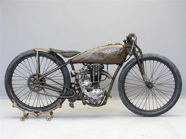 1928 Harley Davidson vintage motorcycle