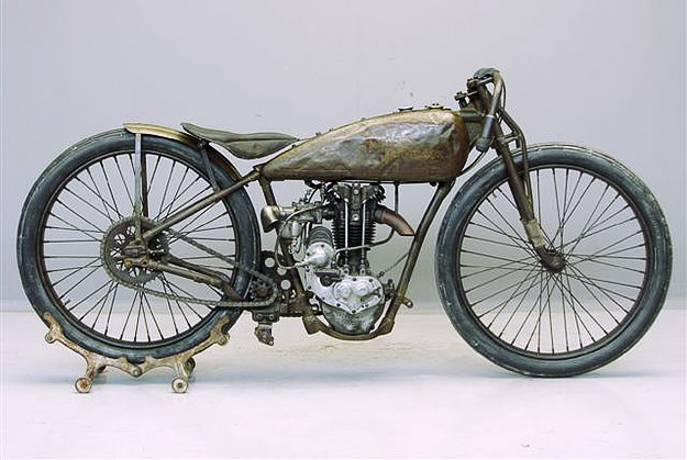 Vintage Harley Motorcycle 46