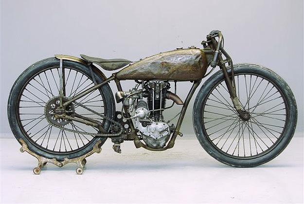 Harley Davidson vintage motorcycle