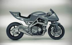Barry Sheene tribute motorcycle