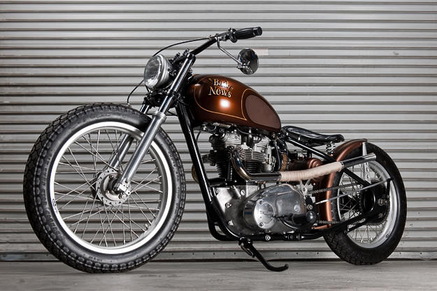 "Custom 1969 Triumph Trophy TR6R ""Bad News"""
