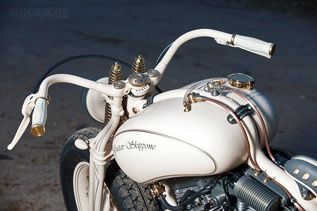 S&S-powered Gustav Skippone by Yuri Shif Custom