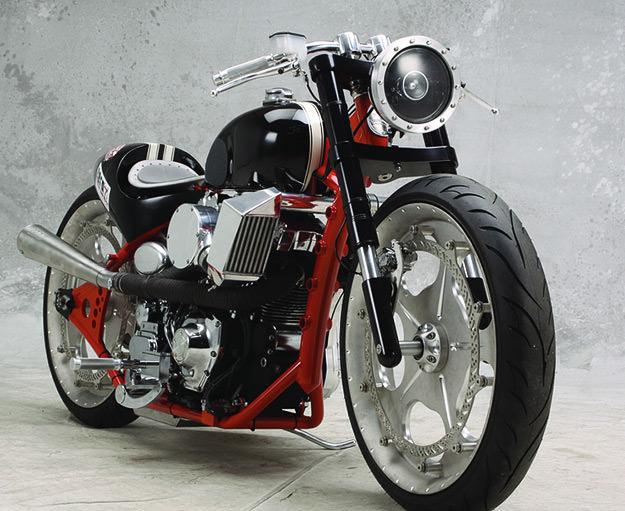 Harley racer