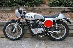 Honda CB450 Manx Tribute