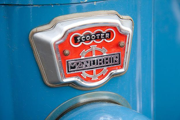 Manurhin MK75 scooter