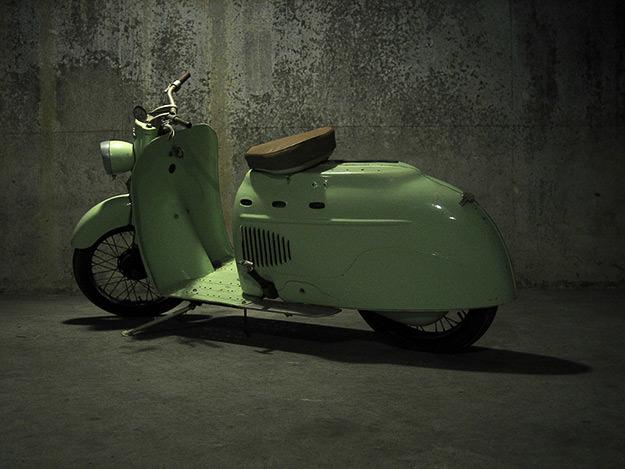 Manurhin SM75 scooter