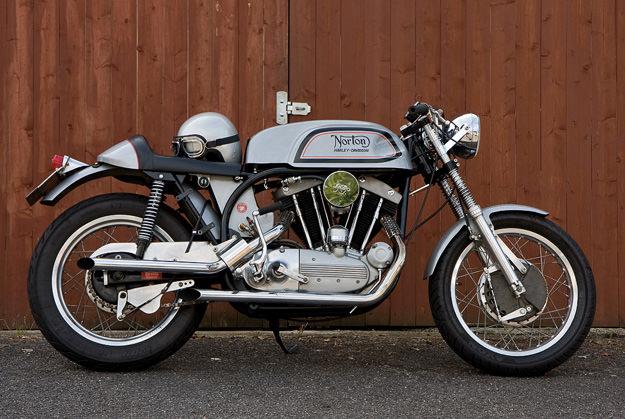 'Dresda-Davidson' Norton motorcycle