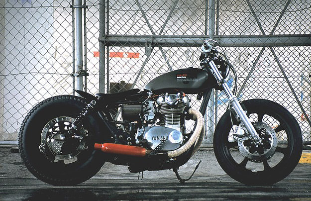 XS650 Yamaha custom motorcycle