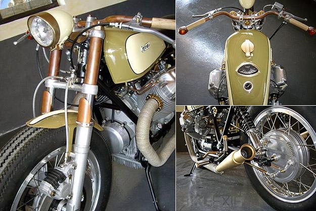 Moto Guzzi bobber