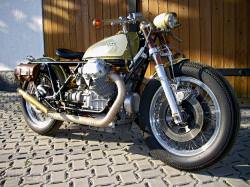Moto Guzzi bobber motorcycle