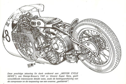 Vincent motorcycle: George Brown's Super Nero