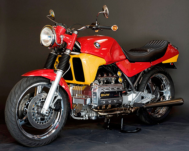BMW K100 custom motorcycle