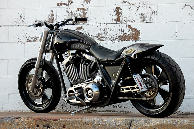 Darwin Motorcycles' new Brawler muscle bike