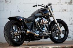 Bobber Motorcycle: Darwin Brawler