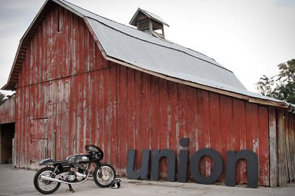 Union Motorcycle custom bike workshop