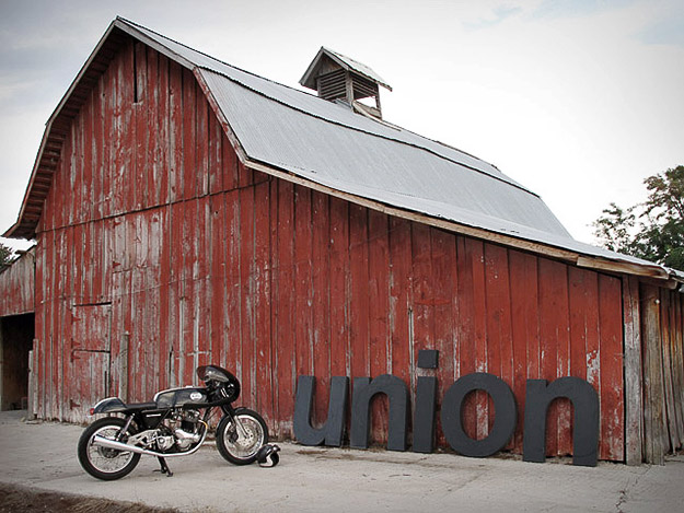Union Motorcycle custom bike workshop