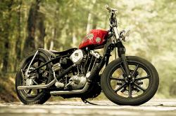 Harley Sportster bobber