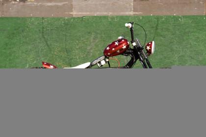D'MX: Harley WLA custom by Hard Nine Choppers
