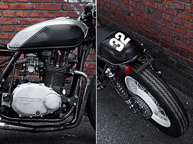 Kawasaki Z750B custom by the Wrenchmonkees