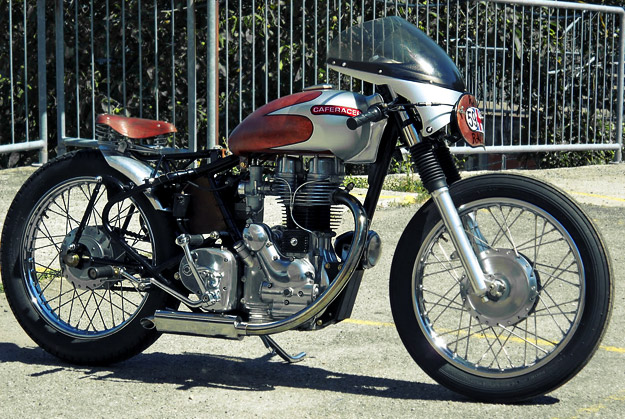Royal Enfield custom motorcycle