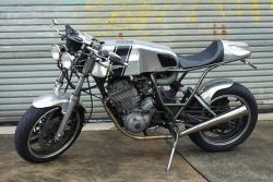 Yamaha XT600 cafe racer