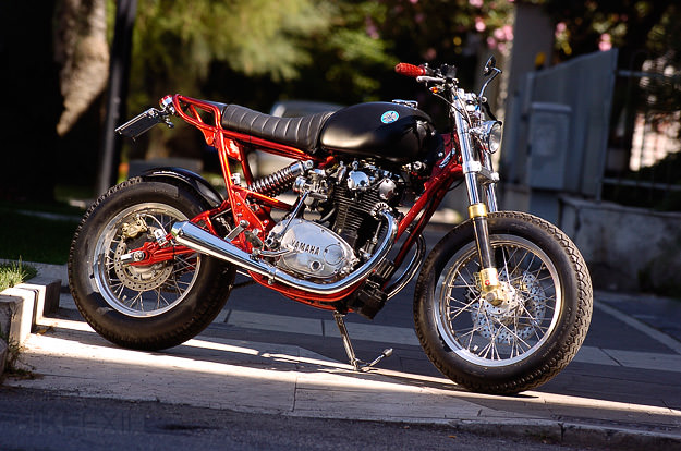 Yamaha XS650 street tracker by Filippo Barbacane