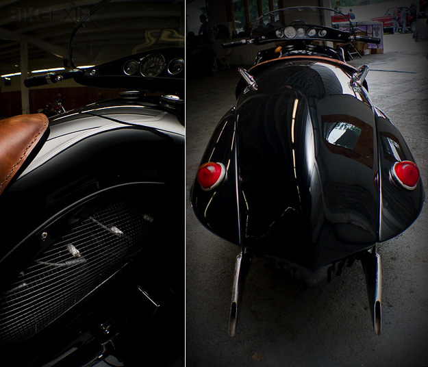 1930 Henderson art deco motorcycle