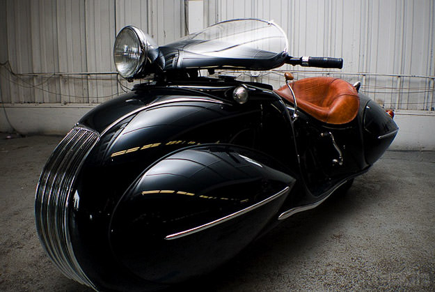 1930 Henderson art deco motorcycle