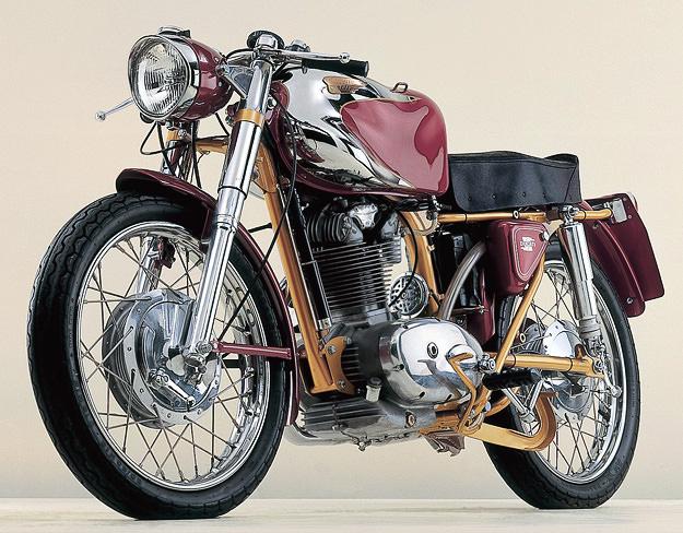 1962 Ducati 200 Elite classic motorcycle
