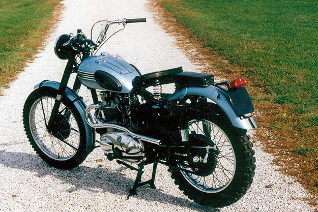 James Dean motorcycle