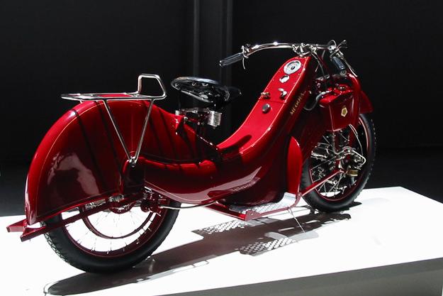 1922 Megola Sport motorcycle
