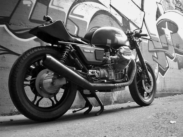 Bike Exif Moto Guzzi Moto Guzzi SP cafe racer