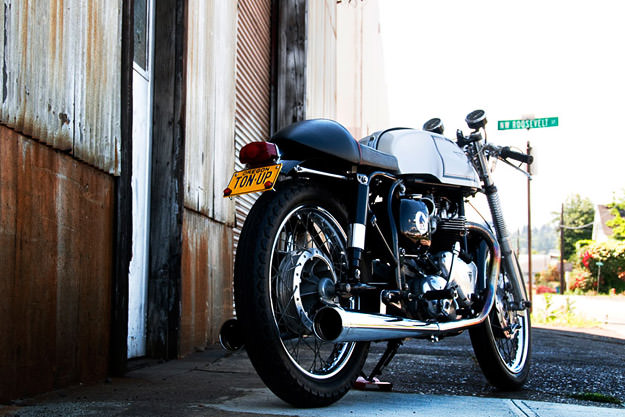 1964 Triton motorcycle