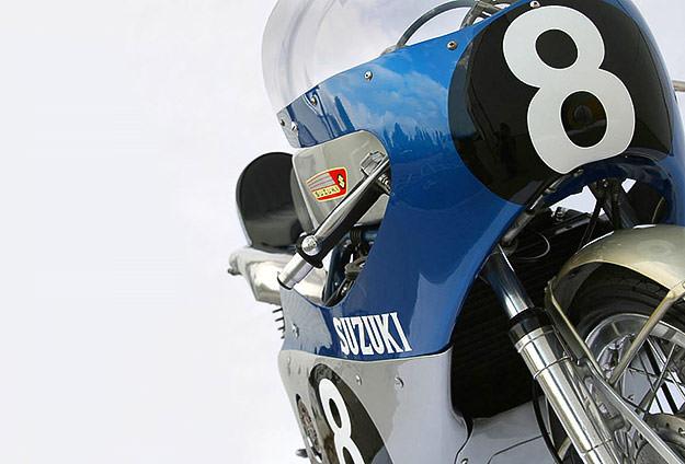 Suzuki RK67 racing motorcycle