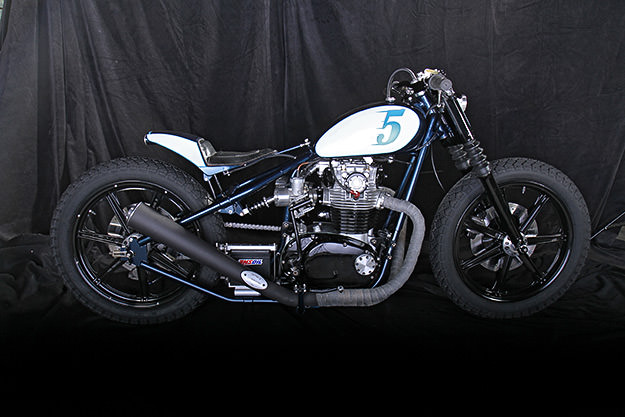 Yamaha XS650 custom by LC Fabrications