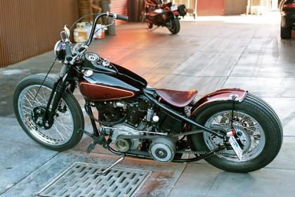 Harley-Davidson knucklehead