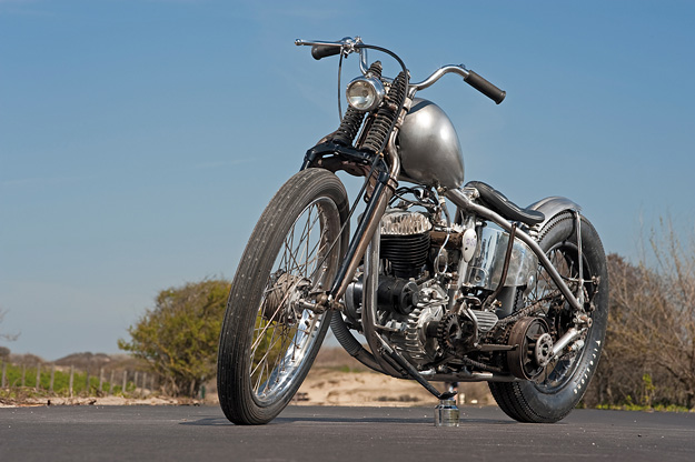 Harley-Davidson WL custom by Dark Star Kustoms