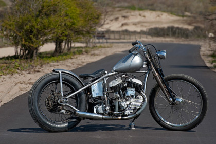 Harley-Davidson WL custom by Dark Star Kustoms