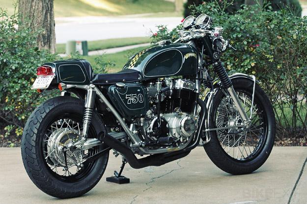 "Honda CB750 ""BRG750"" by Carpy"