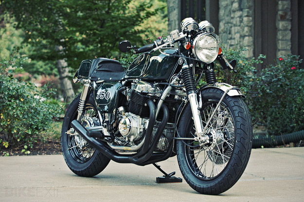 "Honda CB750 custom ""BRG750"" by Carpy"