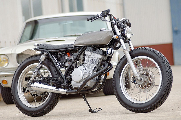Honda GB250 custom motorcycle by Gravel Crew