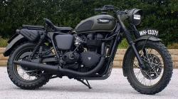 Triumph Bonneville by Drags & Racing