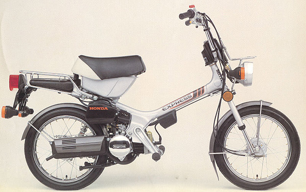 Honda Express motorcycle