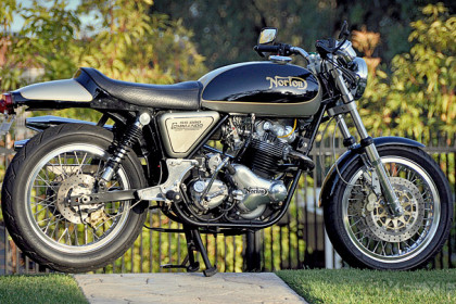 Norton Commando by Kenny Dreer