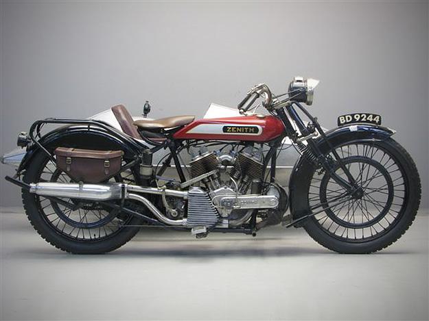 Zenith motorcycle